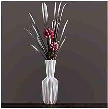 LJBH Pen Holder, Modern Minimalist Ceramic Vase Decoration, Living Room TV Cabinet Floor Flower Arrangement, Vase Creative...