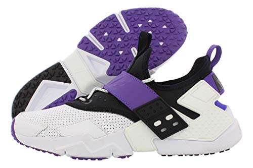 Nike Air Huarache Drift PRM Men's, Sail/Pink Force-Birch-Black, Size 10.0