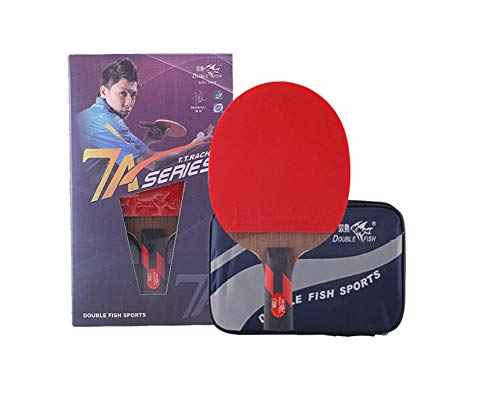 Buy Bargain HUIJUNWENTI Table Tennis Racket, Pen-Hold, Horizontal Shooting, Double-Sided Anti-Stick,...