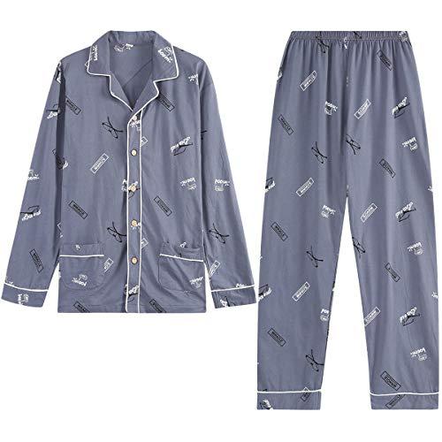 GOSO Conjuntos de Pijamas para niños-Pijamas de algodón para niños 9 10 11 12 13 14 15 años...