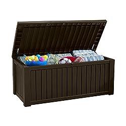 Auflagenbox Holzoptik