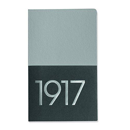Leuchtturm1917Jottbook 343057–, Metallic Edition, doble Pack, color plata A6 (bolsillo)