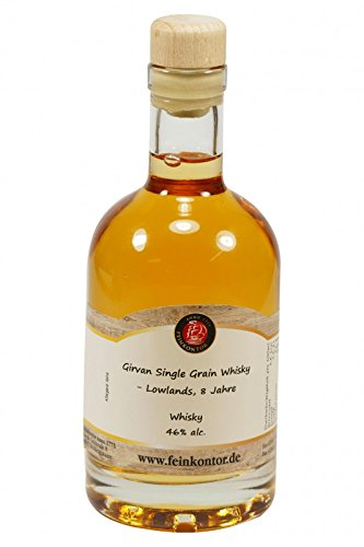 Girvan Single Grain Whisky - Lowlands, 8 Jahre 200ml