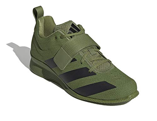 adidas Men Adipower Weightlifting II Weightlifting Shoes Green, 6.5 UK
