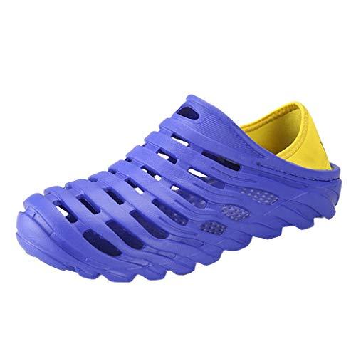 Mens Womens Kids Breathable Slip-On Sneaker Beach Sandals,Waterproof Lightweight Garden Clogs Water Shoes Chaussures D'eau