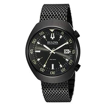 Bulova Men s 98B247 Accutron II Analog Japanese Quartz Black Watch