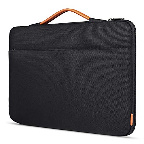 Inateck Custodia PC Portatile 17-17.3 Pollici Borsa Sleeve Impermeabile per Laptop Notebook, Ultrabook e Netbook HP Acer dell Lenovo Sony Toshiba ECC - Nero