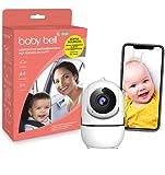 SICURO Kit anti abbandono in auto e a casa: dispositivo anti abbandono Baby Bell PLUS + telecamera...