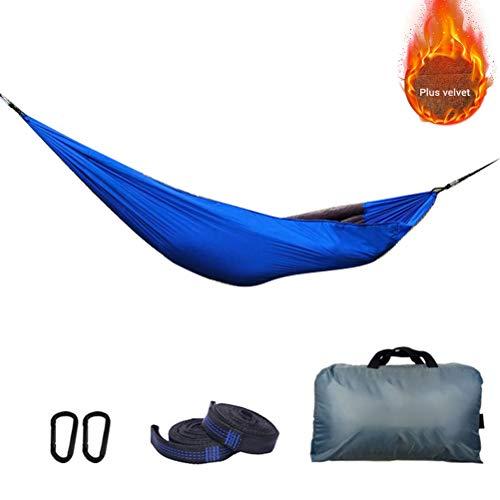 Bozaap Outdoor Hamac sous-Tapis Camping Léger Portable Parachute Hamac Hiver Sac De Couchage sous Couverture Couette pour Camping & Extérieur ou Jardins Et Voyage