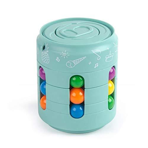 BASOYO Magic Rainbow Ball, Fidget Ball Speed Cube Kreative Dekompression Kreisel Spielzeug für Kinder & Erwachsene