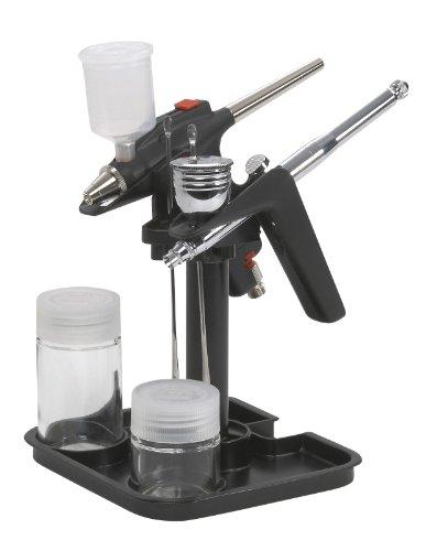 TAMIYA 74539 Spray-Work Airbrush Halter II, schwarz