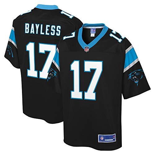 NFL PRO LINE Youth Omar Bayless Black Carolina Panthers Player Jersey