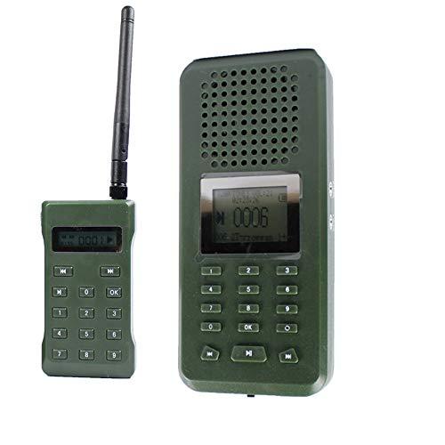 CATMAXMP3 2200 mAh Digital Caza pájaro Reproductores MP3 pájaro llamador de Sonido Juego Señuelos de Caza inalámbrico Control Remoto descargar Sonidos de Aves MP3