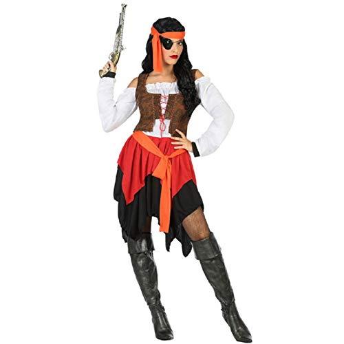 Atosa Déguisement Femme Pirate des Caraibes