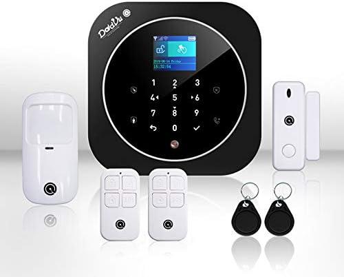 238 opinioni per Sistema di Allarme casa Kit wireless senza fili, WIFI, GSM, Kit Dadvu DV-2AT,