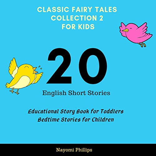 Classic Fairy Tales Collection 2 for Kids: 20 English Short Stories Titelbild