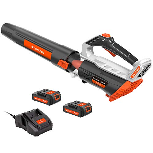 PAXCESS 20V Cordless Leaf Blower,Battery Powered...