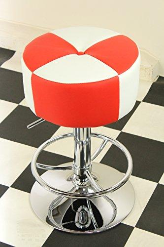 American Diner Stil der 50er Jahre Retro Bar/Hocker rund Stühlen rot