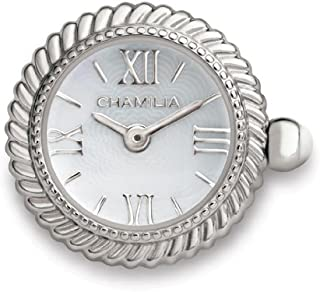Authentic Chamilia White Mother of Pearl Scalloped Watch Bead Y-2