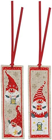 Limited Special Price Counted Kits for Adults Snowman High material Pattern Bookmark Stitch Cross Ki