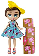 Brand New Boxy Girls Brooklyn Unbox 12 Plus Fashion Surprises! Includes 4 Packages - Unbox Makeup - Shoes - Bags - And More! For Ages 6 Plus