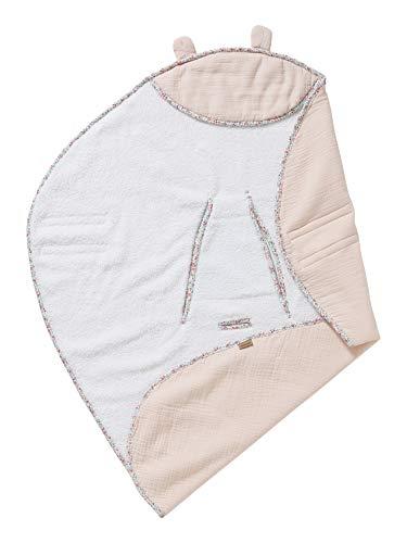 VERTBAUDET Babydecke für den Autositz rosa ONE SIZE