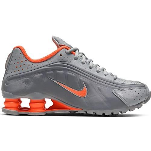Nike CW2626-001, Scarpe da Ginnastica Bambina, Light Smoke Grey/Hyper Crimson, 38.5 EU