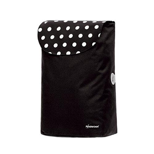 Andersen Shopper Tasche Elba 40 Liter schwarz