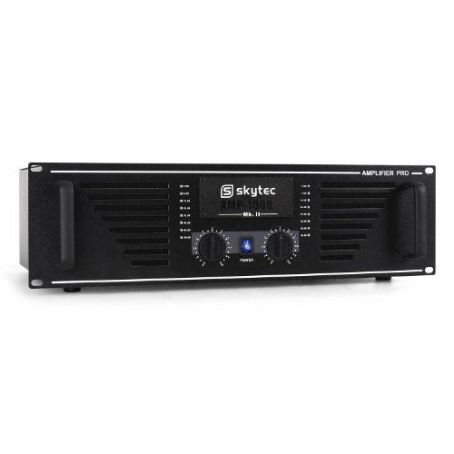 Skytec PRO-1500W DJs Amplificador Sonido Profesional Rack de 19...