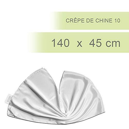 CREATIV Discount Seiden-Schal, L:140cm B:45 cm, Crêpe de Chine 10