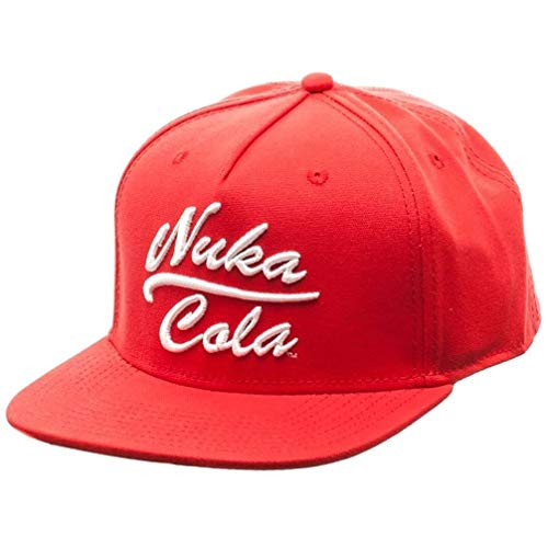 Fallout Nuka Cola Red Snapback Hat