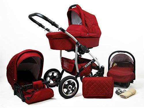 Cochecito de bebe 3 en 1 2 en 1 Trio Isofix silla de paseo Q-Step by SaintBaby Chili 3in1 con Silla de coche