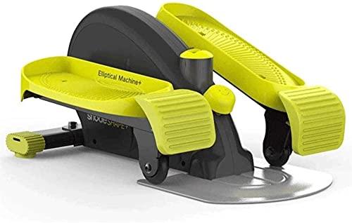 Mini Stepper Fitness Ultra-Quiet Equipo Elíptico Máquina Pérdida de Peso Pequeña Casa Hombres y Mujeres Espacio Paseo Máquina Delgado