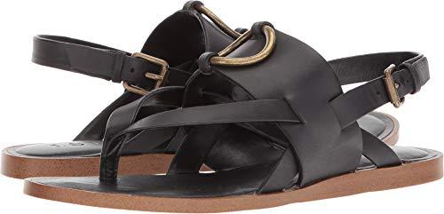 1.STATE Women's Lelle Strappy Sandal, Black 10 B(M) US