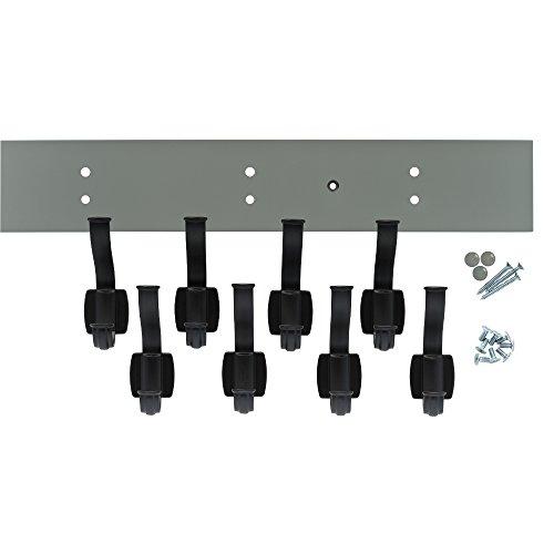 Franklin Brass R37832K-WGB-R Industrial Craftsman Hook Rack, 45 in. Warm Gray and Flat Black