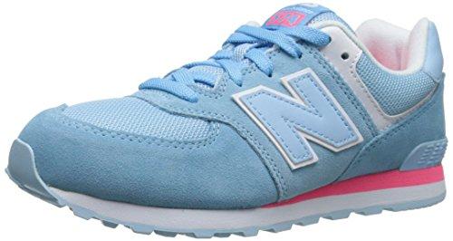 New Balance unisex niños 'KL574low-top zapatillas, color Azul, talla 37.50