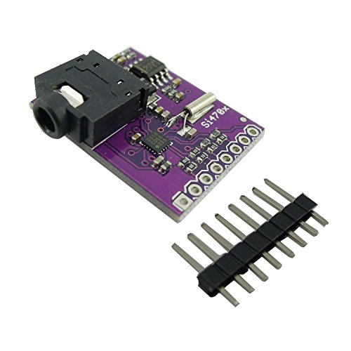 Aihasd Si4703 FM Tuner Evaluation Board Radio Tuner Foren for Arduino Raspberry Pi
