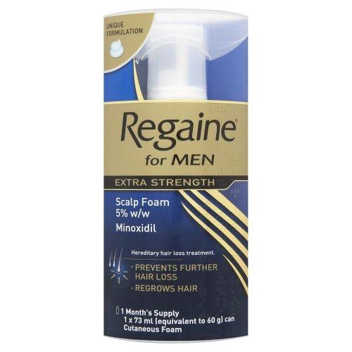 Regaine For Men Hair Regrowth Foam 73 ml