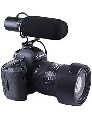 Nicama SGM5 Cardioid Condenser Interview Shotgun Microphone for DSLR Camera Nikon Canon Sony Mirrorless Camera DV Camcorder