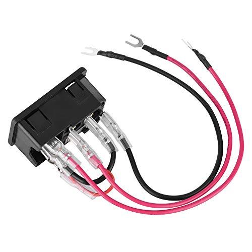Jinyi Interruptor de Encendido para Impresora 3D, Enchufe Tipo U, Herramientas de Impresora 3D, Enchufe de Interruptor de Toma de Corriente, Comercial para el hogar para Impresora Impresora 3D