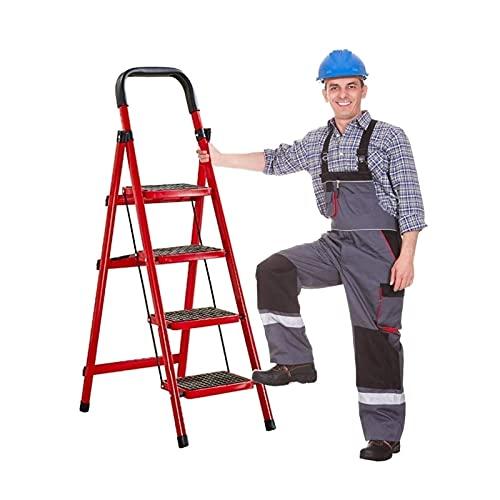 joyvio Escalera de Mano Taburete Plegable con Agarre cómodo