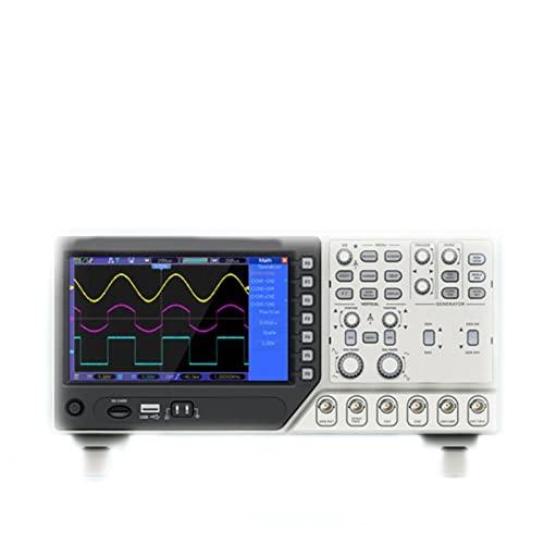 DSO4072C/ DSO4102C/ DSO4202C 2 Osciloscopio del canal+ generador de señales (Size : DSO4072C)