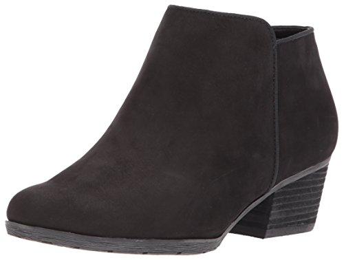 Blondo Women's Villa Waterproof Ankle Boot, Black Leather, 6.5 M US