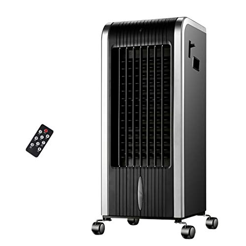 LZG Humidifier/Evaporative Cooler/Heater with Remote Control Indoor Air Conditioner Swamp Cooler, Cooling Tower Fan Air Cooler for Bedroom Home Office Dorms