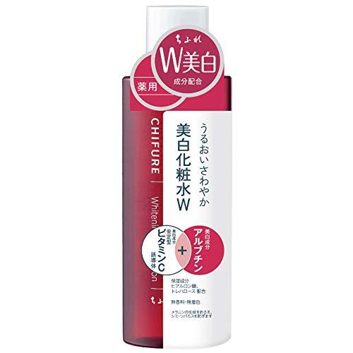 ちふれ【医薬部外品】美白化粧水Wリキッド本体180mL