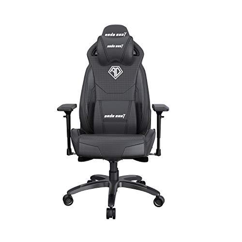 Anda Seat Throne Pro - Silla de Oficina con Brazos, Respaldo Lumbar, Respaldo ergonómico, Asiento y Brazo de Ajuste de Altura para Juegos
