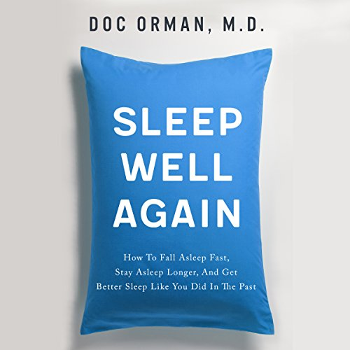 Sleep Well Again audiobook cover art