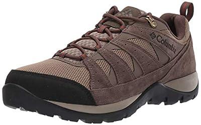 Columbia Men's Redmond V2 Hiking Shoe, Pebble/Dark Adobe, 10