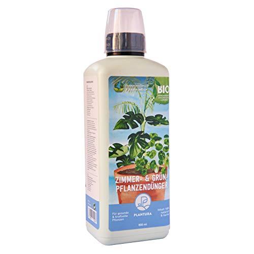 Plantura Bio Zimmer- & Grünpflanzendünger, Bio Flüssigdünger für Zimmerpflanzen & Palmen, 800 ml