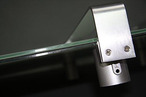Infrarotheizung 600 Watt Glas Infrarot Heizung Design Elektrischer Heizkörper doppelte Bild 6*